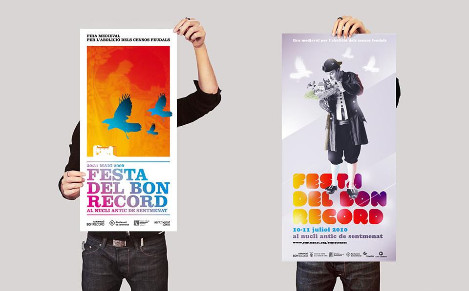 Cartells Festa del Bon Record