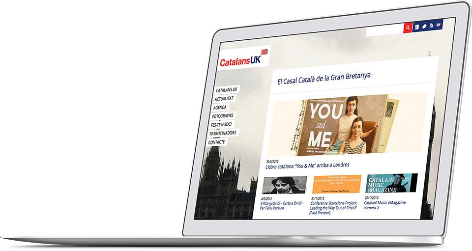 Catalans UK web